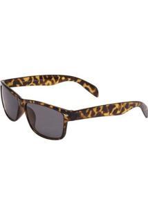 Óculos Ray Flector Vtg588 Feminino - Feminino-Caramelo+Preto