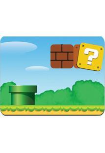Kit Jogo Americano E Porta Copos Cenário World Geek10 Verde