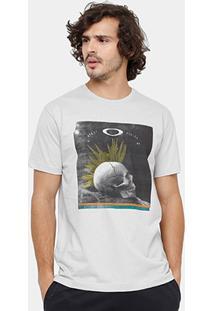 Camiseta Oakley Grass Masculina - Masculino