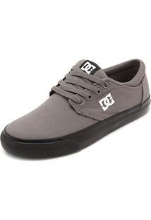 Tênis Dc Shoes Plaza Lite Cinza