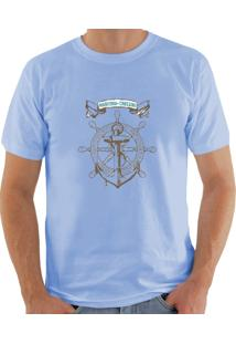 Camiseta Milá Âncora Azul