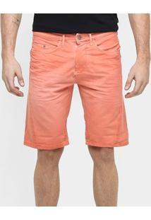 Bermuda Calvin Klein Tinturada Color Elastano - Masculino