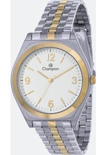 Kit Relógio Feminino Champion Ch22313D Analógico + Conjunto Semijóia