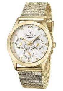 Relógio Feminino Champion Analógico - Ch38217H - Feminino-Dourado