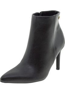 Bota Feminina Ankle Boot Vizzano - 3049219 Preto