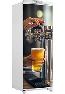Adesivo Geladeira Envelopamento Porta Chopeira Bar - Até 1,50X0,60 M