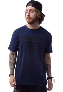 Camiseta Manga Curta Fallen Azul Marinho