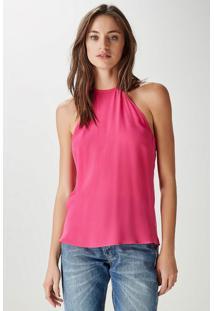 Regata Det Triângulo Rosa Pink - 40