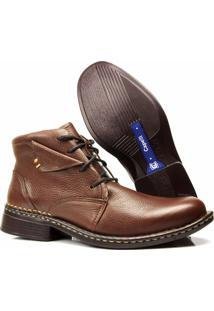Bota Boot 3Ls3 Couro - Masculino-Marrom