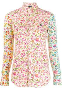 Polo Ralph Lauren Camisa Com Estampa Floral - Amarelo
