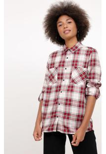 89eb1881d Camisa Algodao Flanela feminina | Gostei e agora?