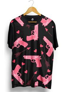 Camiseta Bsc Arm Pink Full Print - Masculino