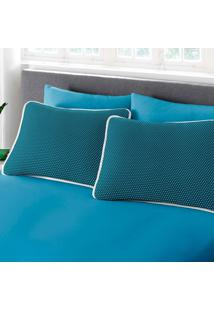 Jogo De Cama Queen Size 3 Peã§As Premium Ciranda Azul Ref 70.72.0003/7126 - Estampado - Dafiti