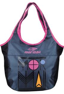 Bolsa Para Tablet Mormaii - Mroo76605 - Cinza E Rosa