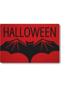 Tapete Capacho Halloween - Vermelho