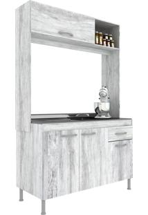 Cozinha Compacta 4 Portas 2 Gavetas Pop New Artico - Manto Móveis