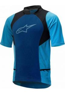 Camisa Alpinestars Drop 2 Azul Acqua