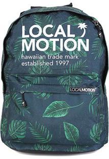 Mochila Local Motion Hawaiian Básica - Unissex