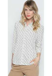 Camisa Flechas- Branca & Preta- Intensintens