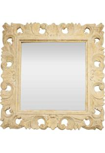 Espelho Quadrado Arabesco Bali