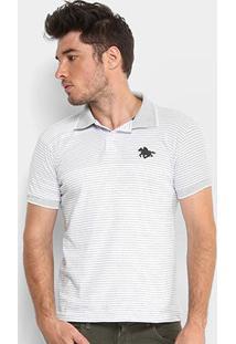 Camisa Polo Rg 518 Listrada Fio Tinto Masculina - Masculino