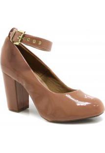 Sapato Zariff Shoes Scarpin Verniz Fivela