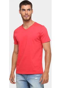 Camiseta Kohmar Básica Masculina - Masculino-Vermelho