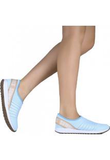 Tênis Bebece Casual Malha Summer Love Shoes