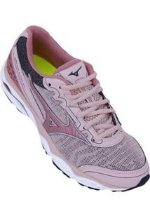 49e7cceca8fcf Netshoes. Calçado Tênis Running Feminino Mizuno Conforto Amor Wave ...