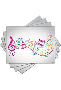 Jogo Americano - Musica Com 4 Peças - 133Jo