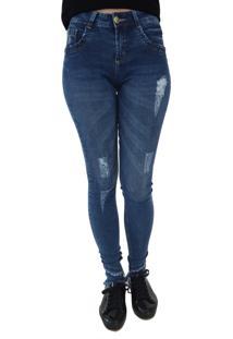 Calça Jeans Aero Jeans Skinny Azul