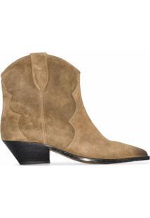 Isabel Marant Ankle Boots 'Dewina' - Neutro