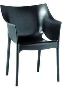 Cadeira Tais Preto Rivatti Móveis