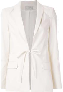 Egrey Blazer Com Amarração - Branco