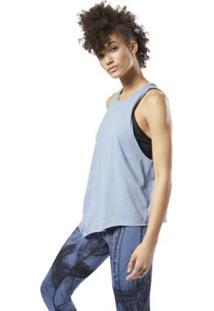 Regata Reebok Muscle Blue Slate F15-R Feminina - Feminino