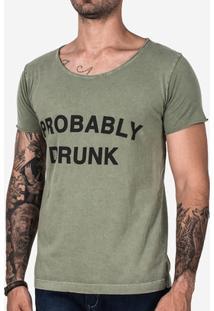 Camiseta Hermoso Compadre Probably Drunk Masculina - Masculino