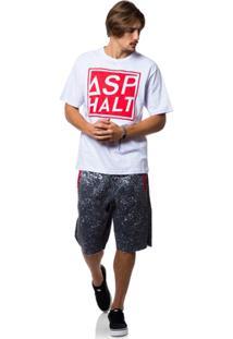 Camiseta Asphalt Box Logo - Masculino