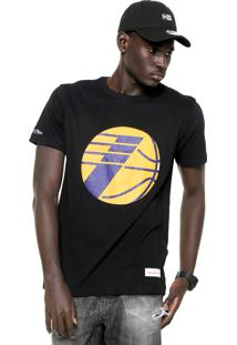 Camiseta Mitchell & Ness La Lakers Preta