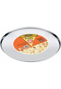 Forma Para Pizza Tramontina Service Em Aço Inox 30 Cm 61731300