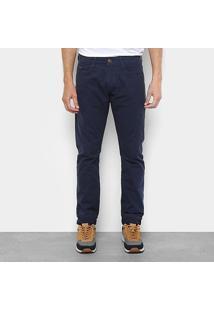Calça Slim Forum Jeans Básica Cintura Alta Masculina - Masculino