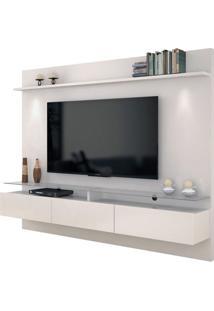 Painel Para Tv 60 Polegadas Vidratto Off White 218 Cm