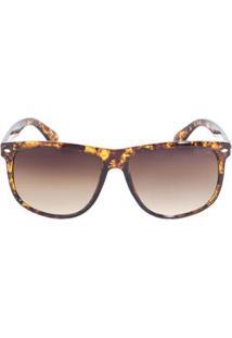 Óculos De Sol Triton Eyewear Pp40805 Feminino - Feminino-Marrom
