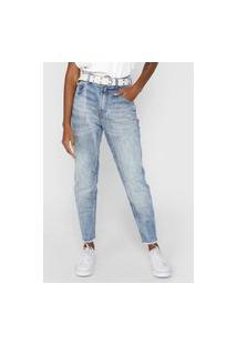 Calça Jeans Ellus Reta Rihanna Azul