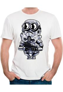 Camiseta Minion Trooper Geek10 - Branco