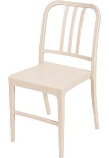 Cadeira Em Polipropileno Navy Fendi