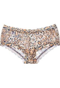 Calcinha Caleçon Leopard Nouveau Hanky Panky Loungerie - Animal Print