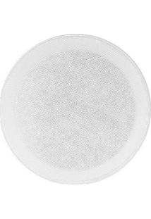 "Arandela Redonda Frahm 6"" Bl 100W Branco"