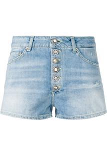 addfc3032cad72 Dondup Shorts Jeans - Azul
