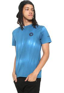 Camiseta Zoo York Raglan Tie Dye Azul