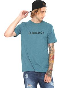Camiseta Volcom Stoney Cycle Verde